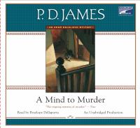 Mind To Murder, A