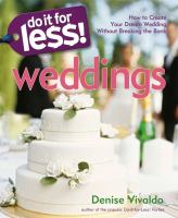 Do It for Less! Weddings
