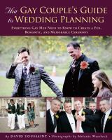 The Gay Couple's Guide to Wedding Planning