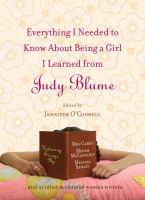 Image: Everything I Needed to Know About Being A Girl I Learned From Judy Blume