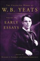 Early Essays