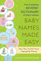 Baby Names Made Easy