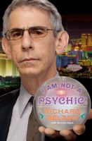 I Am Not A Psychic!
