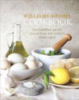 The Williams-Sonoma Cookbook