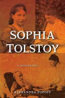 Sophia Tolstoy : a biography
