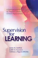 Supervision for Learning