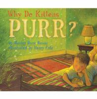 Why Do Kittens Purr?