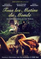 Tous les matins du monde(DVD,Gérard Dépardieu)