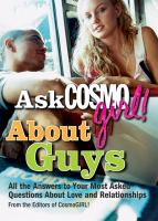 Ask CosmoGirl! About Guys
