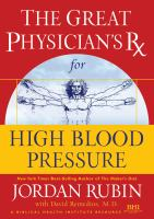 The Great Physician's RX for High Blood Pressure