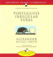Portuguese Irregular Verbs (Compact Disc)