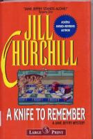 A Knife to Remember