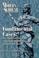 Fundamental Cases