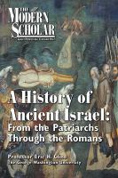 A History of Ancient Israel