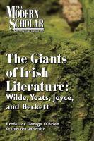 The Giants of Irish Literature