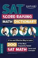 SAT Score-raising Math Dictionary