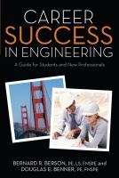 Career Success in Engineering