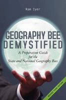Geography Bee Demystified