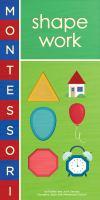 Montessori Shape Work