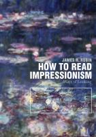 How to Read Impressionism
