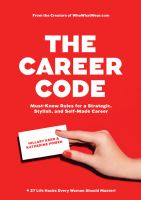 The career code : must-know rules for a strategic, stylish, and self-made career