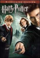 Harry Potter and the Order of the Phoenix [videorecording (DVD)]