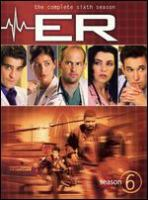 ER. The complete sixth season
