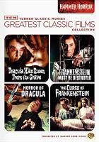 Tcm Greatest Classic Films - Hammer Horror (DVD)