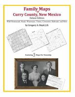 Family Maps of Curry County, New Mexico