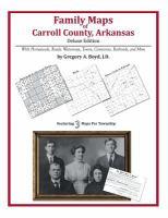 Family Maps of Carroll County, Arkansas