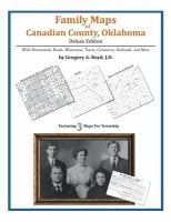 Family Maps of Canadian County, Oklahoma