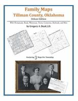 Family Maps of Tillman County, Oklahoma