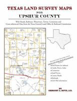 Texas Land Survey Maps for Upshur County