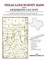 Texas Land Survey Maps For Stephens County