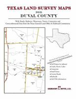Texas Land Survey Maps For Duval County