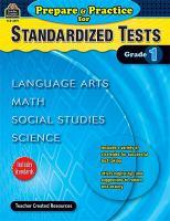 Prepare & Practice for Standardized Tests