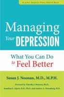 Managing your Depression