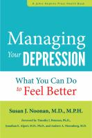 Managing your Depression