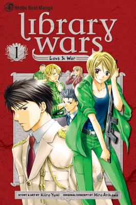 Cover Image: Library Wars v. 1
