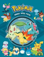 Pokémon seek and find. Johto