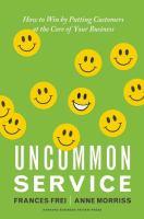 Uncommon Service