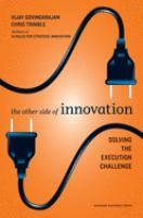 The Other Side of Innovation