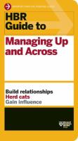 Guide to Managing up and Across