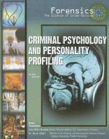 Criminal Psychology and Personality Profiling