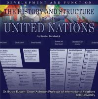 The History and Structure of the United Nations