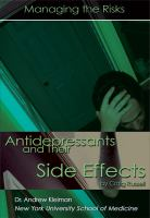 Antidepressants and Their Side Effects