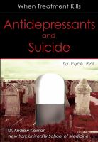 Antidepressants and Suicide
