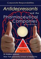 Antidepressants and the Pharmaceutical Companies
