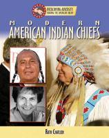 Modern American Indian Leaders