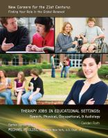 Therapy Jobs in Educational Settings